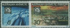 AAT SG19-20 Tenth Anniversary of Antarctic Treaty set of 2
